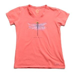 Life is Good - Live & Let Fly Tee
